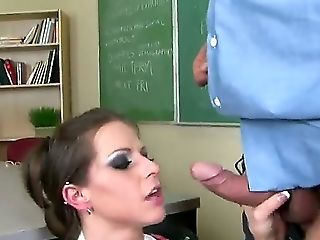 Pretty Youthfull Boy With Lengthy Hard Dick Got Spunky Dark-haired Rachel Roxxx On The Educator Desk, Ate Off Her Puss And Cussed Out Her Jaws And Cun