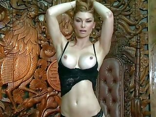 Heather Vandeven Is Another Lovely Adult Model. She Poses In