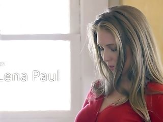 Ample Titted Wifey Lena Paul Is Fucked By Horny Hubby In The Kitchen