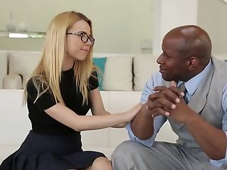 Mr Roberts Fave Student Alina West - Interracial Fuck-a-thon