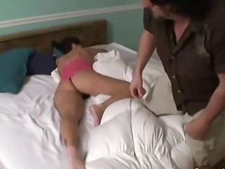 Waking Up My Big Tit Gf For Some Morning Hump