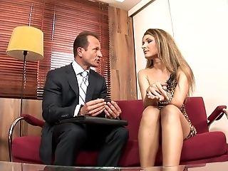 Horny Porn Industry Star Snow Angel In Best Internal Cumshot, Backdoor Sex Movie