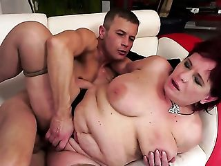 Sandy-haired With Saucy Tits Gets Hammered Stupid By Intercourse Thirsty Dude