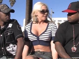 Skylar Price Attempts Interracial Double Penetration For The Very First Time