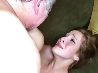 Teenager Rails Old Stepdaddy