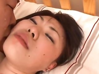 Timid Matures Japanese Woman Gets Her Hairy Cooch Pounded