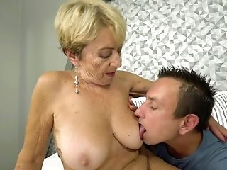 Ardent Auburn Cougar With Chubby Figure Malya Is Fucked Rear End Hard Enough