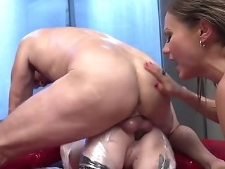 Rocco Siffredi And His Gf Fuck Anal Invasion Fuck Hole And Deep Facehole Of Packaged In Plastic Bitch Tina Kay