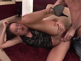 Finest Sex Industry Star Michelle Lay In Amazing Ass Fucking, Smallish Tits Porno Scene