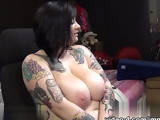 Fabulous Pornographic Star Scarlet Lavey In Amazing Fuck Sticks/fucktoys, Bbw Adult Flick