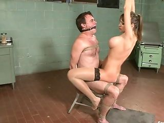Buxomy Nika Noire Wants To Penalize Her Paramour With Bondage & Discipline Intercourse Game
