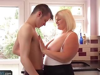 Agedlove - Compilation Of Blonde Matures Having Fuck-fest With Youthfull Guys.