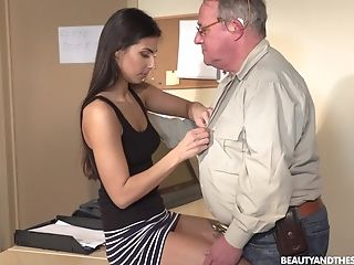 Xxx Missionary And Rear End Fuck With Nubile Dark Haired Angela Allison